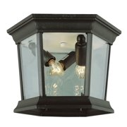 Trans Globe Lighting 4904 Three Light Down Lighting Outdoor Flush Mount Ceiling Fixture from the Outdoor Collection