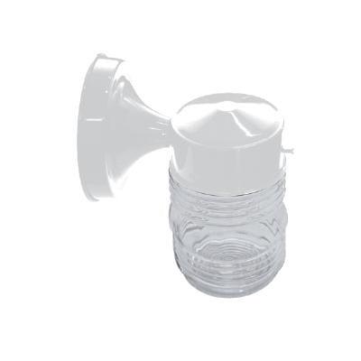 SUNLITE ODI1050 Clear jar white wall mount outdoor fixture