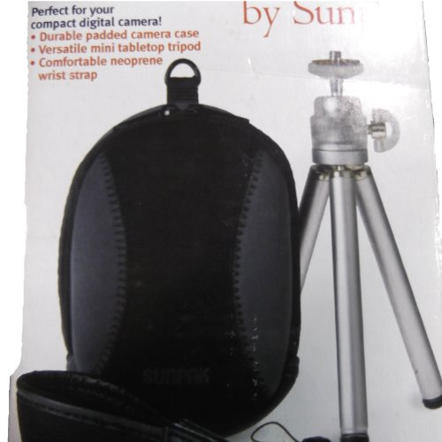 Sunpak Point and Shoot Kit 620-PSKITBB