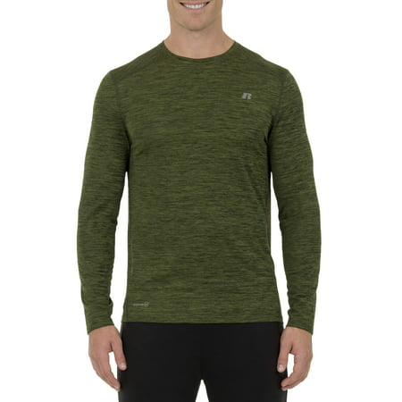 93f0f189 Russell - Men's Performance Long Sleeve Tee - Walmart.com
