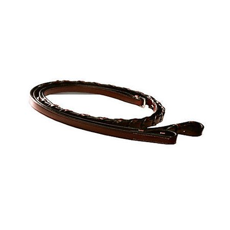 - Kincade Laced Reins 54 Inch Brown