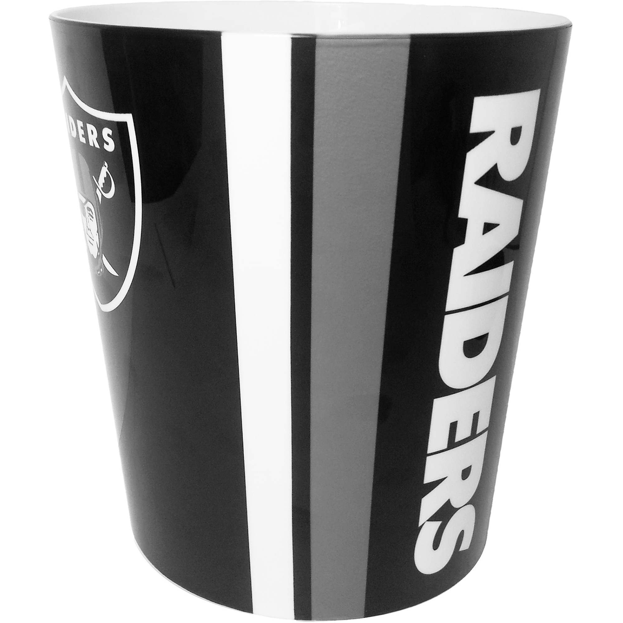 NFL Oakland Raiders Decorative Bath Collection - Wastecan