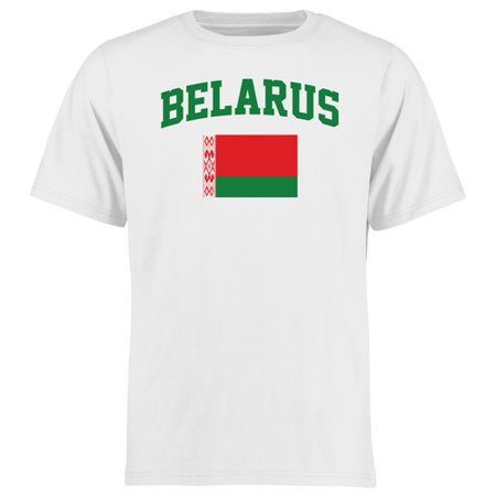 - Belarus Flag T-Shirt - White