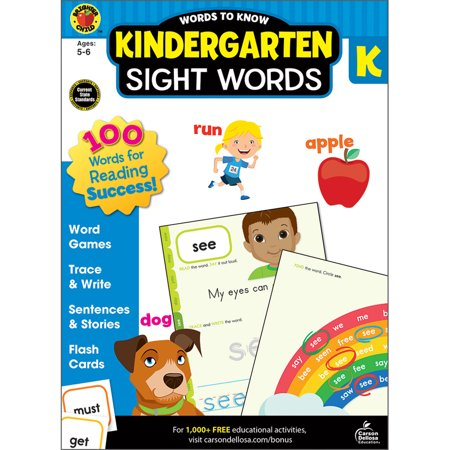 Words to Know Sight Words, Grade - K Halloween Words