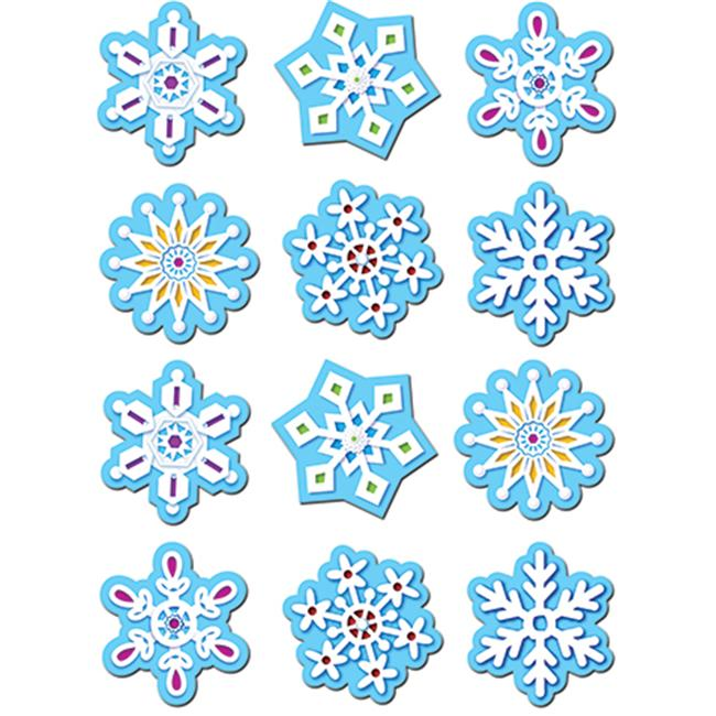 SNOWFLAKES STICKERS