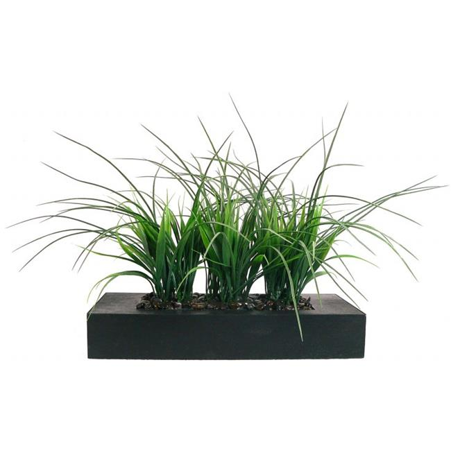 "14"" Tall Grass Artificial Faux Lifelike in Pot By Minx NY"