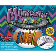 Wonder Loom Monster Tail Rubber Band Crafting Kit, 1 Each