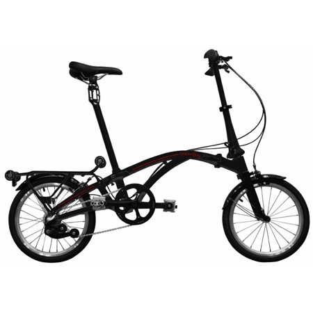 Dahon Curl i3 Stealth (Black) 3 Speed Folding Bike