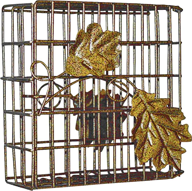 SUET FEEDER SINGLE LEAF