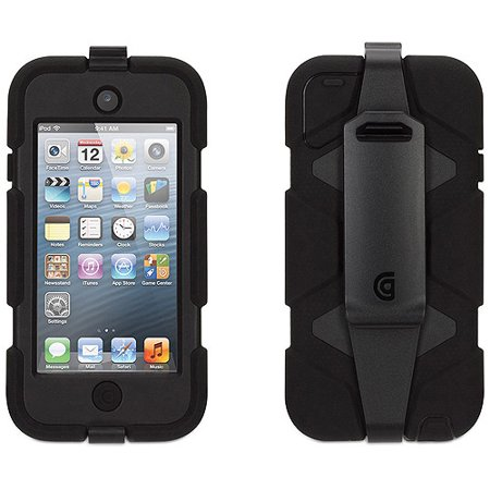 Survivor All Terrain Mobile For Ipod Touch 5G And 6G In Black/Black/Black
