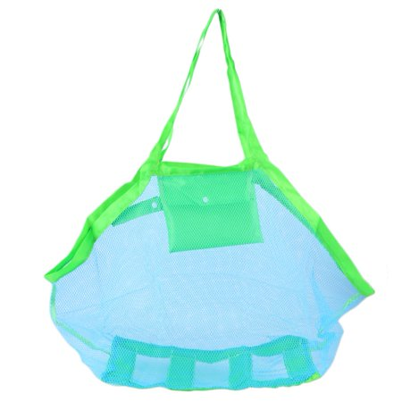Child Treasured Object Collection Bag Sandy Beach Shell Pouch Toy Storage Bag