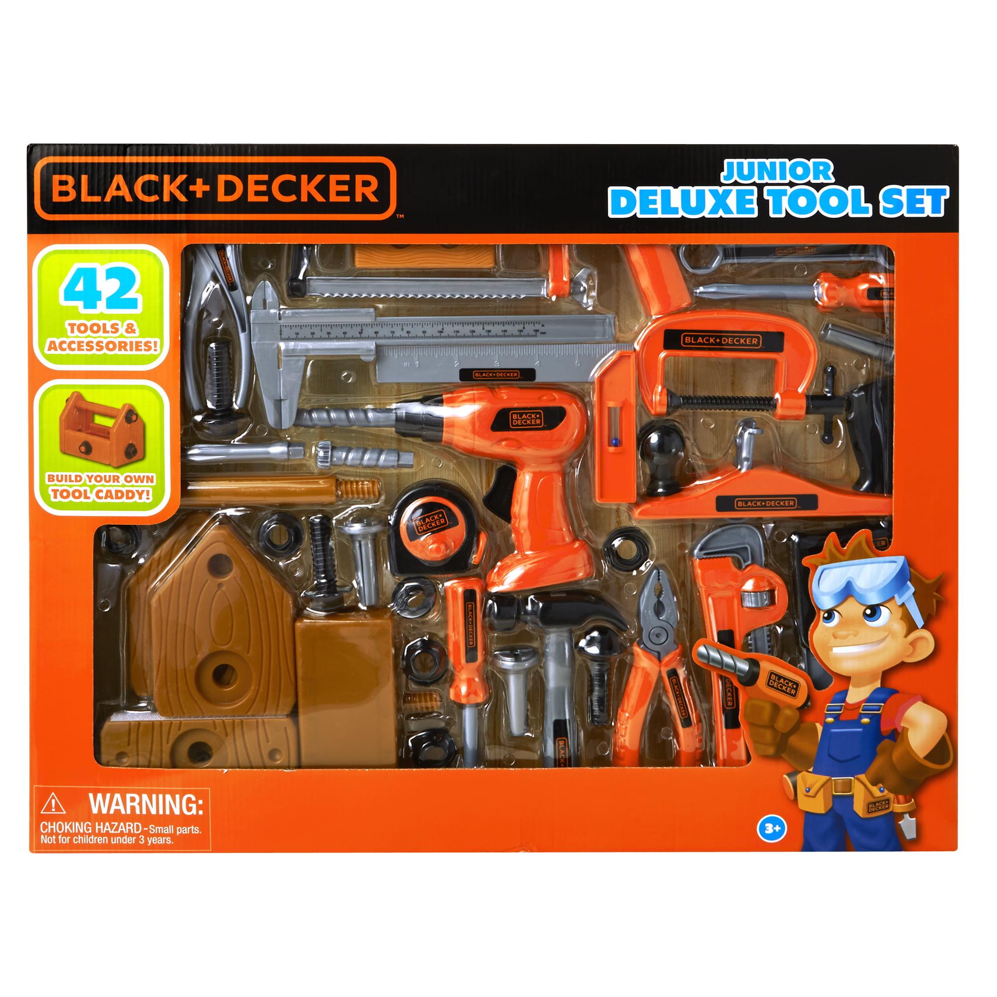 Black /& Decker Junior Training Tool Set 15 Pieces