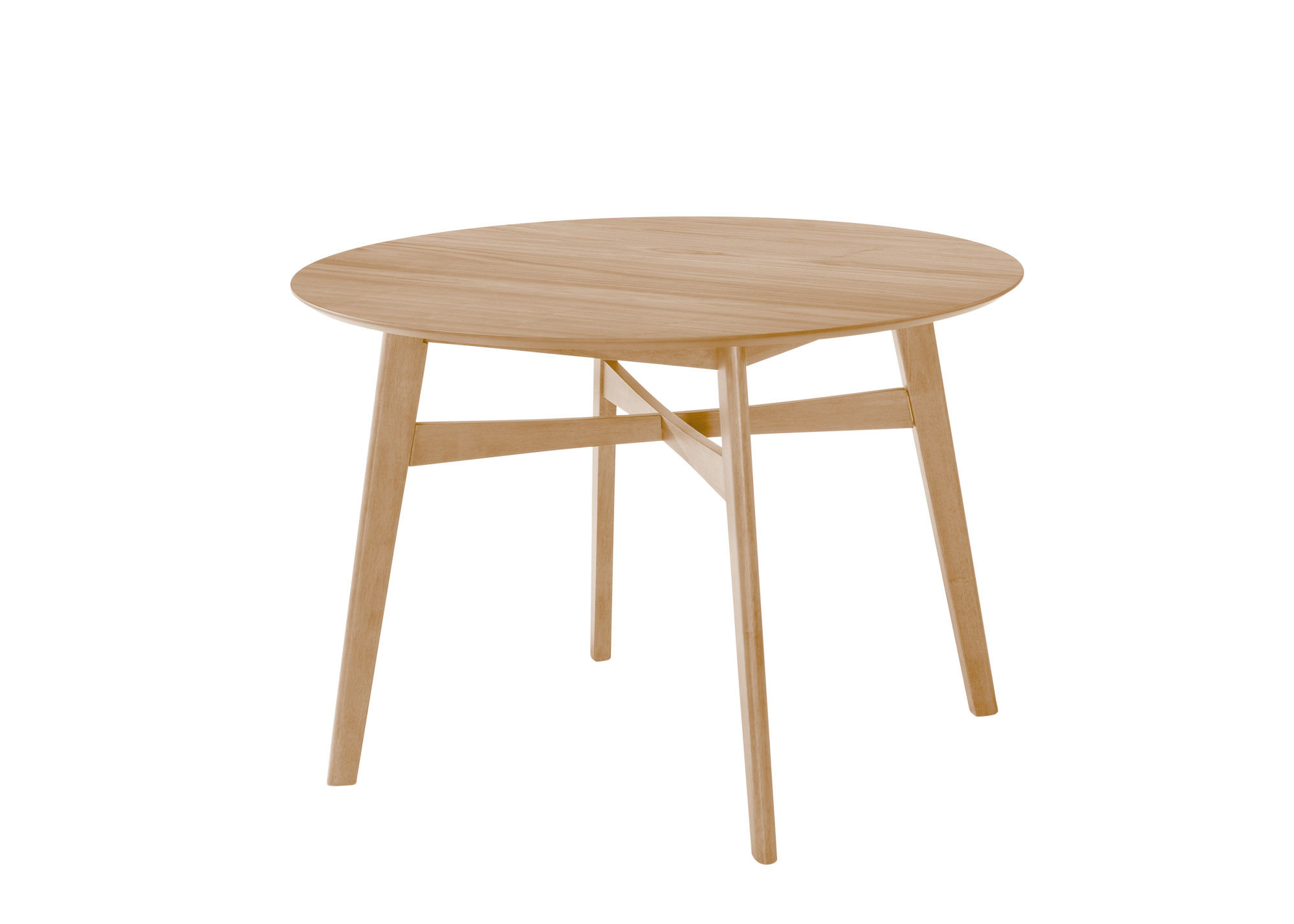 "Emerald Home Simplicity Round Dining Table 42"" Natural D546-15 by Emerald Home Furnishings, LLC"