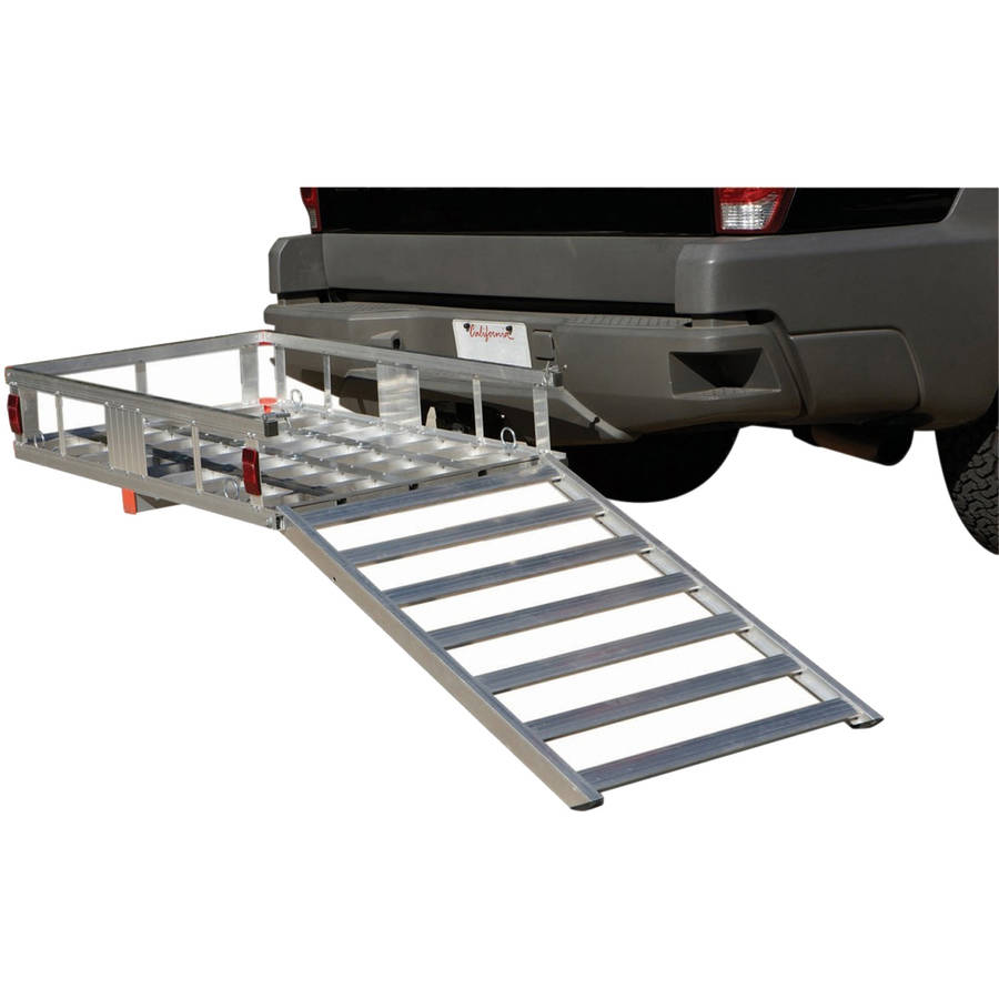 Aluminum Cargo Carrier with Ramp
