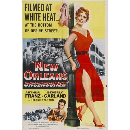 New Orleans Uncensored POSTER Movie Mini Promo