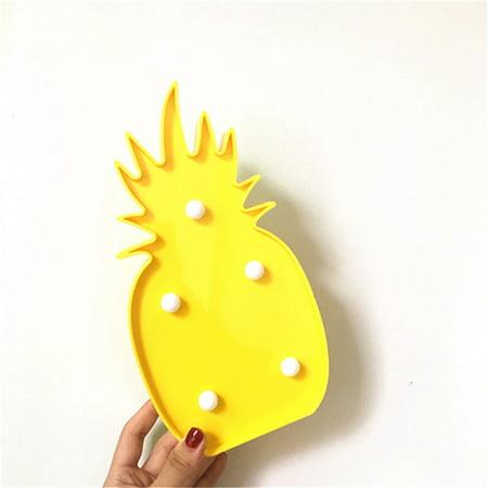 Christmas Pineapple - 3D LED Pineapple Nightlight Romantic Night Light Table Lamp For Christmas Decorations Home Decor