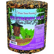 Pine Tree Farms Fruitberry Nut Bird Seed Log