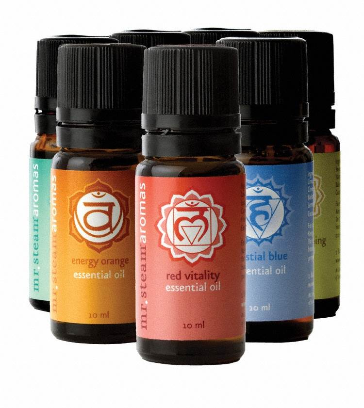 Chakra 7 10ml bottle Oil Pack for use with Steam Head and Towel Warmer wells
