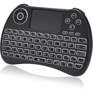 Adesso SlimTouch 4040 Wireless Illuminated Keyboard with Built-in Touchpad