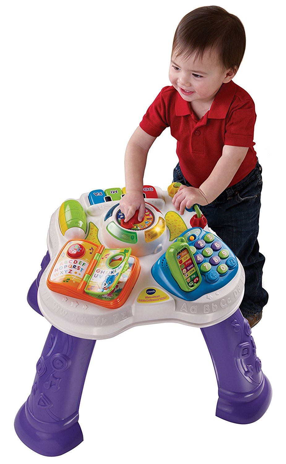 VTech Sit-to-Stand Learn and Discover Table by