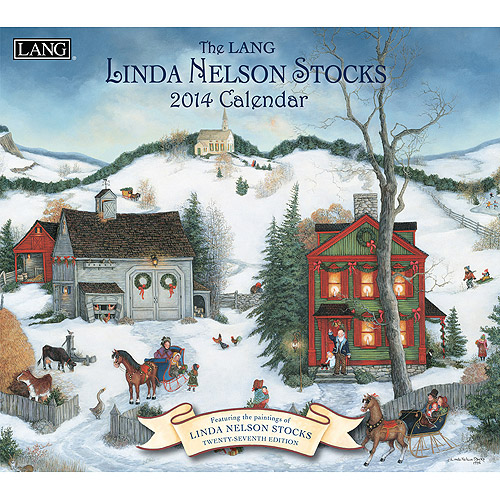 Lang Linda Nelson Stocks 2014 Wall Calendar