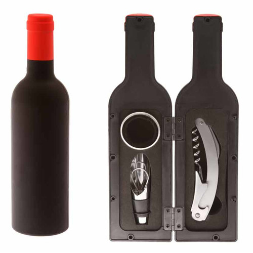 Boston International Wine Bottle Tool Set and Chalkboard