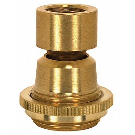 Satco Solid Brass Swivels Large Hang Straight Swivel 1/4 F x 1/4 F ...