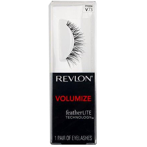 Revlon Volumize False Eyelashes, 91084 V73, 1 pr
