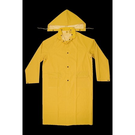 Climate Gear R1052X 2-Piece Heavyweight Rain Trench Protective Coat, 2X-Large, PVC,