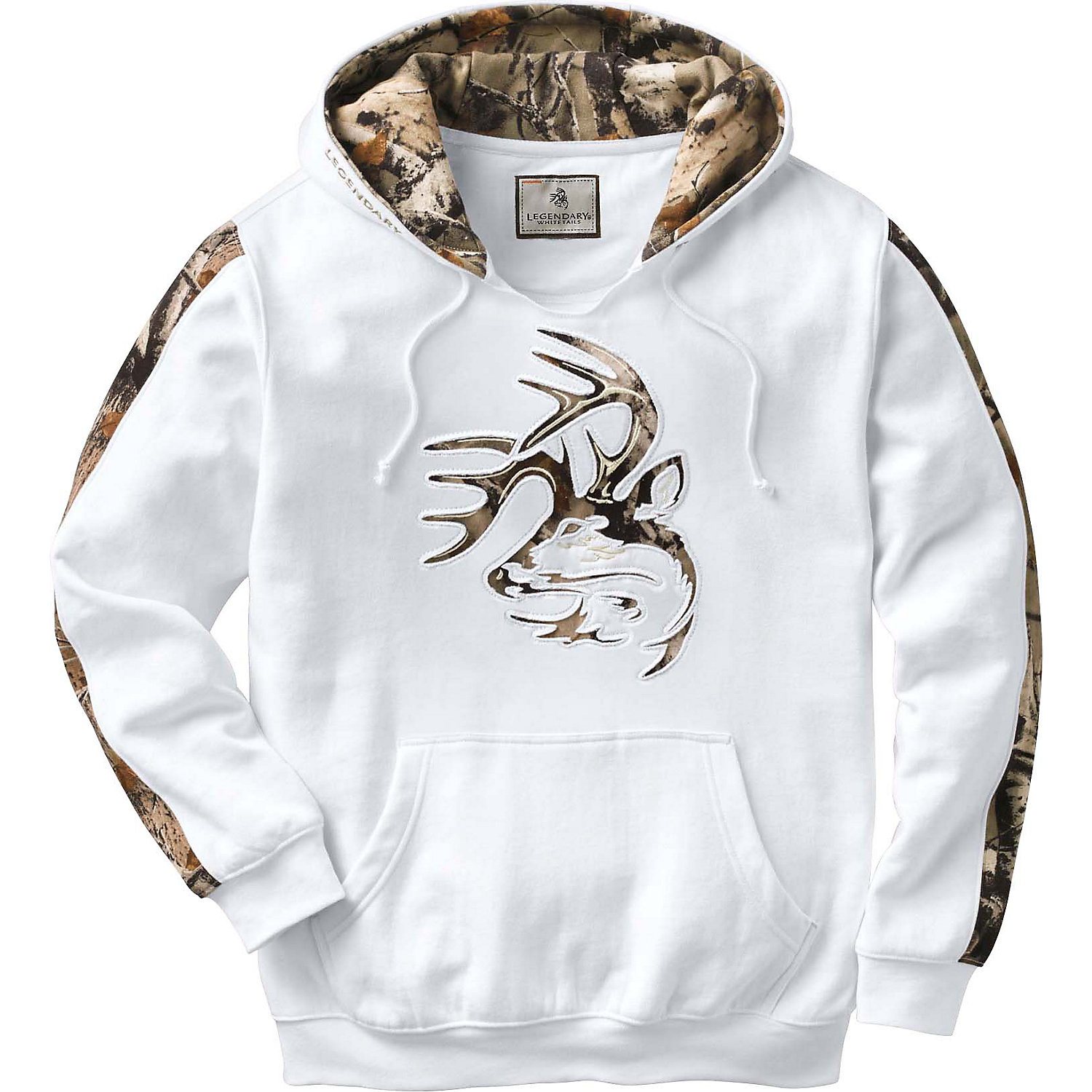 Legendary Whitetails Mens Camo Outfitter Hoodie