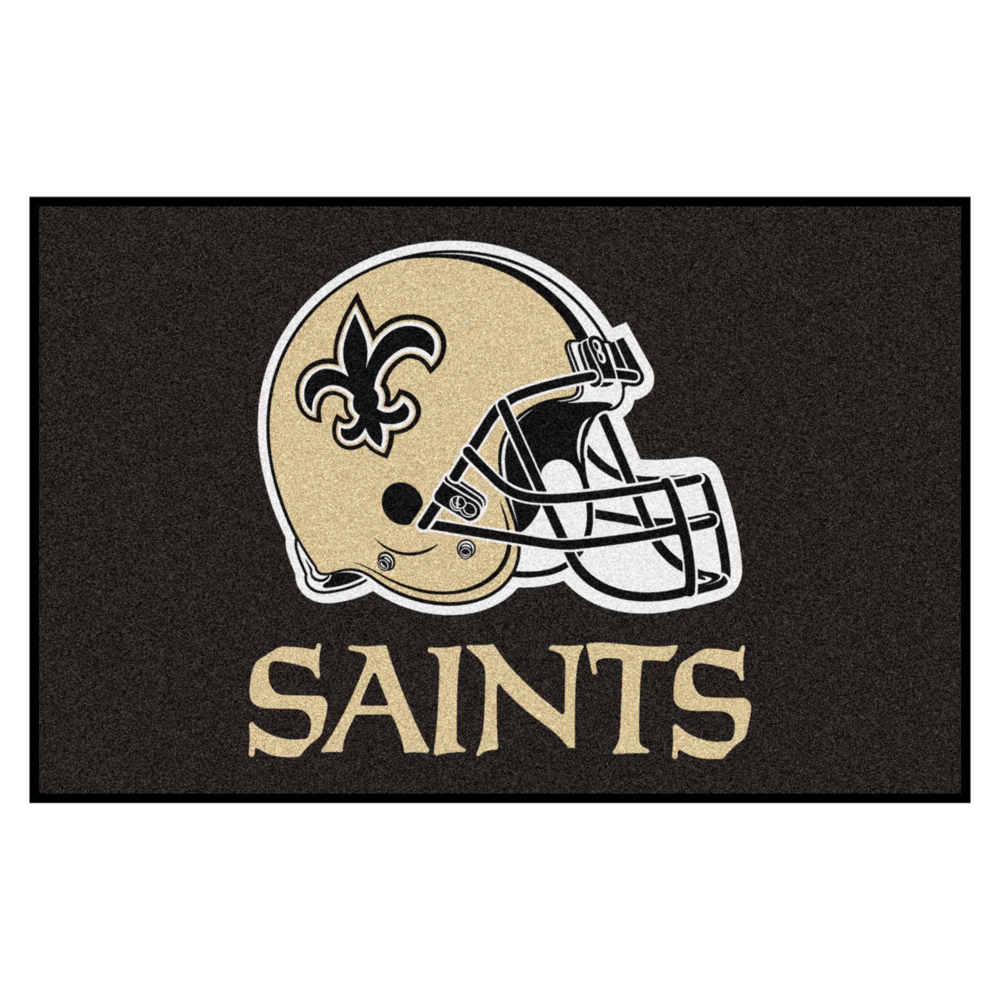 NFL New Orleans Saints Starter Mat Rectangular Area Rug