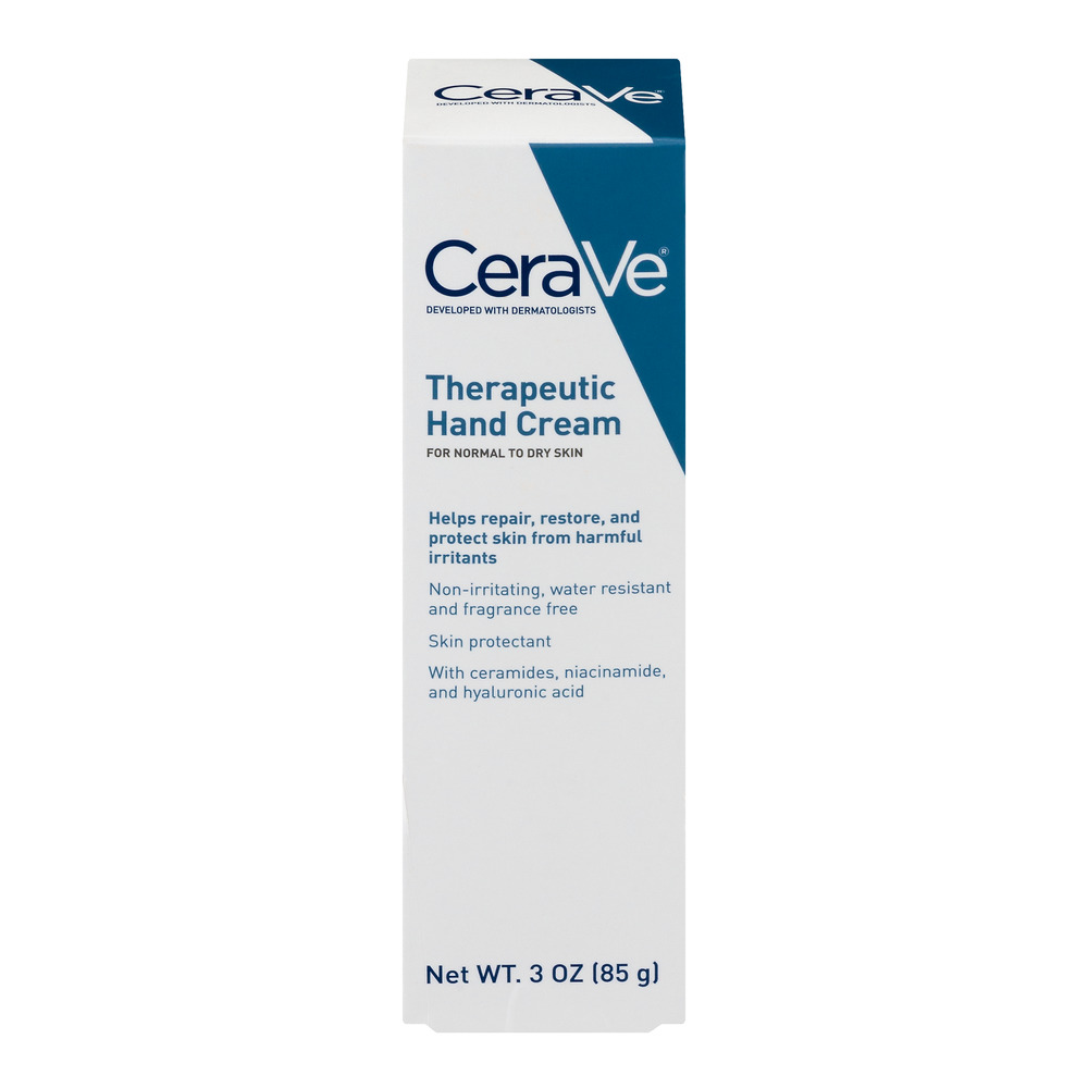 CeraVe Therapeutic Hand Cream for Normal to Dry Skin, 3 oz.