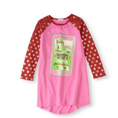 Komar Kids Girls' Dear Santa Sleep Gown (Little Girls & Big Girls)