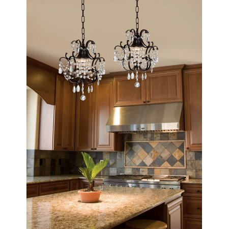 (Chandelier Wrought Iron Crystal Chandelier Island Pendant Lighting  H14