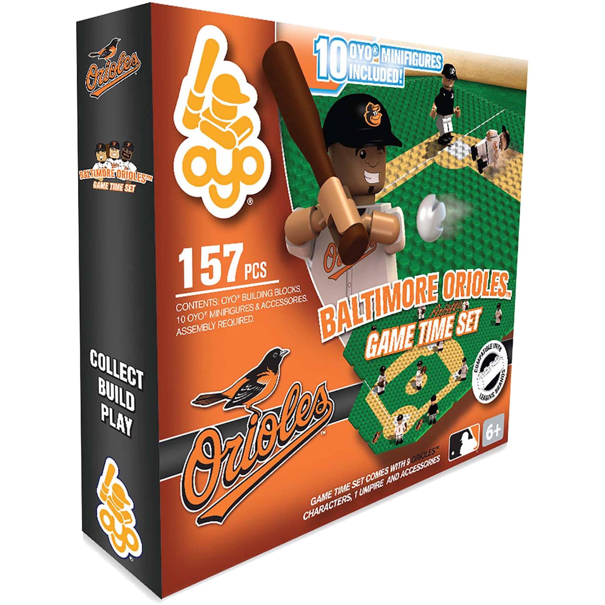OYO Sports 157-Piece Game Time Set 2.0, Baltimore Orioles