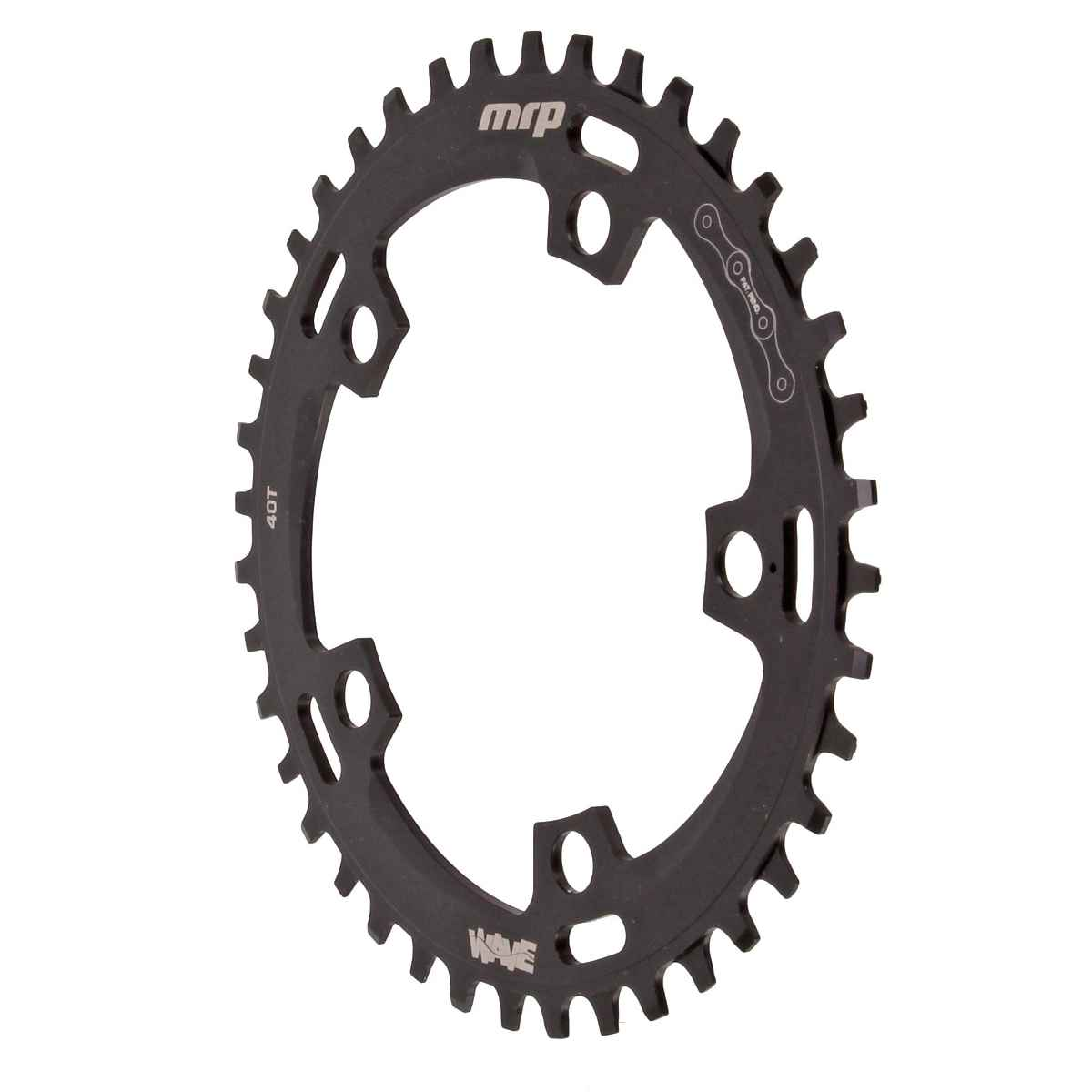 MRP Wave Cx Chainring, 110 BCD40T - Black - 23-1-040