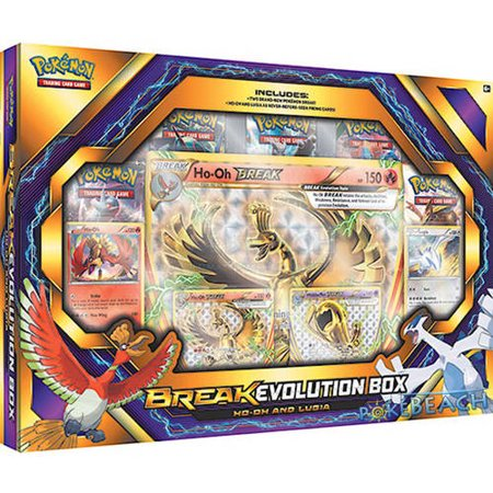 Pokemon Break Evolution Box 2 Hooh And Lugia