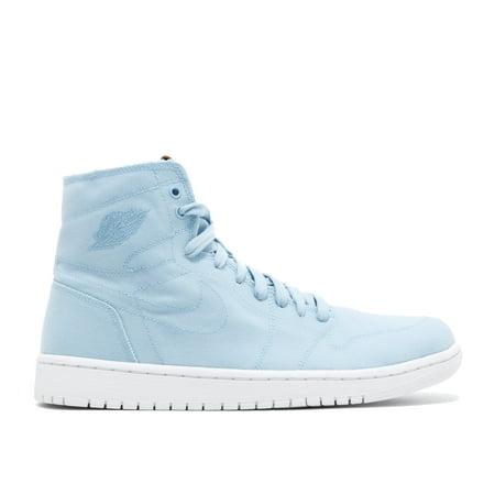 new product 94b0e c59ba Nike Men s Air Jordan 1 Retro High Decon Ice Blue   White-Vachetta Tan High  ...