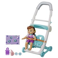Littles by Baby Alive, Push n Kick Stroller