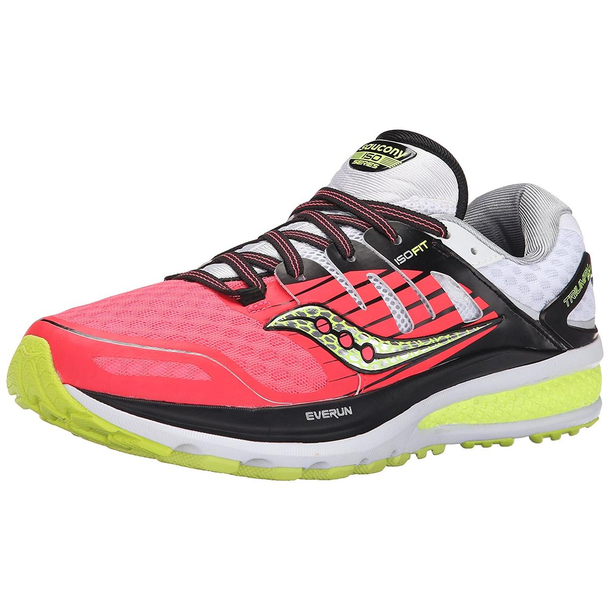 Saucony Triumph ISO 2 Womens Coral/Silver Sneakers