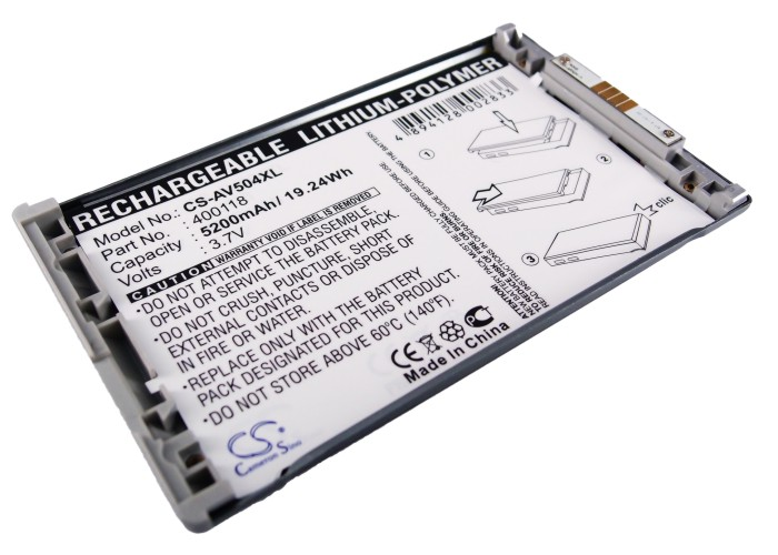 Cameron Sino 4800mAh Battery for Archos AV504 by Cameron Sino