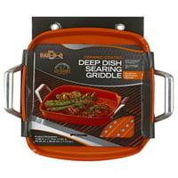 Mr Bar B Q Premium Ceramic Coating Deep Dish Searing Griddle, 1 griddle