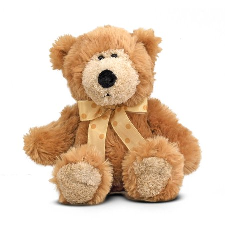 Flannel Newborn Teddy Bears - Melissa & Doug Baby Ferguson Teddy Bear Stuffed Animal