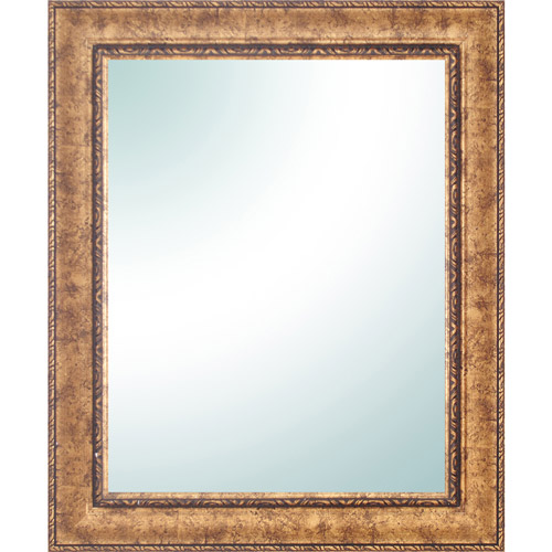 "28"" x 34"" Gold Ornate Vanity Mirror"