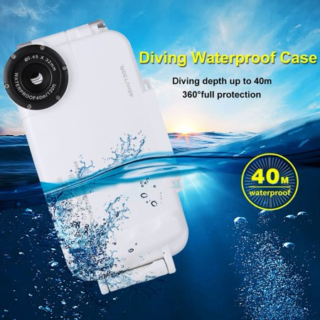 low priced bccd7 3d060 PULUZ Photo Video Taking Underwater Cover Case 40m/130ft Waterproof ...