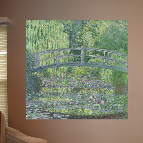 Wallhogs Monet The Waterlily Pond (1899) Poster Wall Mural