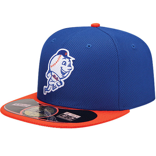 New York Mets New Era On Field Diamond Era 59FIFTY Fitted Hat - Royal