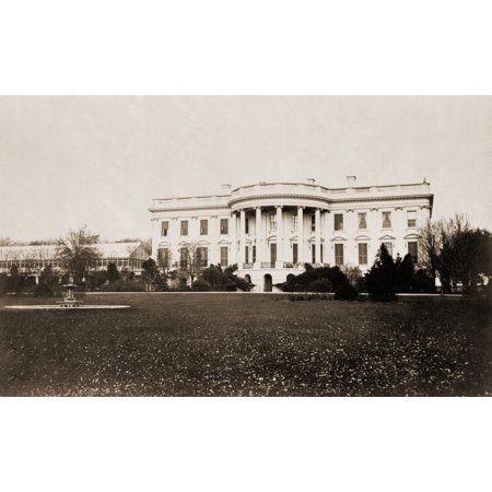The South Face Of The White House History