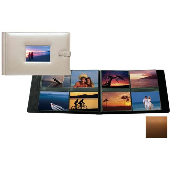 Raika SF 177 TAN 4in. x 6in. Frame Album with 8 Photo