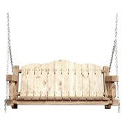 Homestead Collection Porch Swing, Exterior Stain Finish
